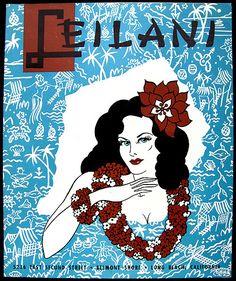 Leilani Hut, Belmont Shore (Long Beach), CA (restaurant) -- Tiki Central Advertising Ads, Vintage Advertisements, Tiki Hut, Tiki Tiki, Belmont Shore, Tiki Torches, Hula, Long Beach, California