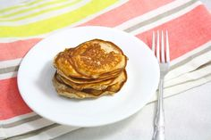 Coconut Flour Pancakes- Foodie Fiasco. Vegan, low carb, and only 150 calorie for the entire recipe!  We made these this morning, the non vegan kind.  I was looking for a healthier Gluten Free Pancake.  They were pretty tasty, I think I will adjust the recipe a bit and add some Gluten Free Oats.  They were pretty good though, my littlest one was asking for more!