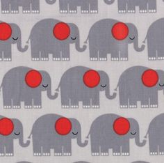 Bungle Jungle - Elephants Grey by Tim Beck for Moda Fabrics - Last Yard