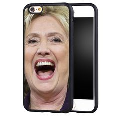 Hillary Clinton Printed Protective Soft TPU Mobile Phone Cases For iPhone 6 6S Plus SE 5 5S 5C 4 4S Back Shell Cover