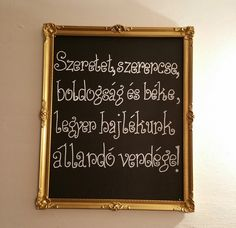 Házi áldás - DIY, HOME, GRACE Diy And Crafts, Pottery, Learning, Interior, Painting, Life, Home Decor, Frases, Chalkboard Designs