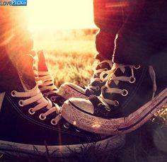 Love Couple Shoes Girl Boy