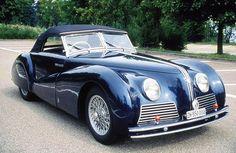 Alfa Romeo 6C 2500 SS Spider Pininfarina 1939.