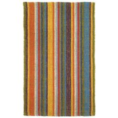 I pinned this Bermuda Primary Stripe 4' x 6' Rug from the Jute & Sisal Rugs event at Joss and Main!