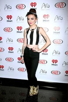 Cher Lloyd Photos Photos - Cher Lloyd attends the IHeart Radio Festival Kickoff Party at Haze Nightclub, Aria Resort Casino, Las Vegas. - iHeart Radio Festival Kick-Off Party