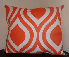 Tangelo Emily  Decorative Pillow Cover   Choose Your Size  Handmade in the USA #Handmade