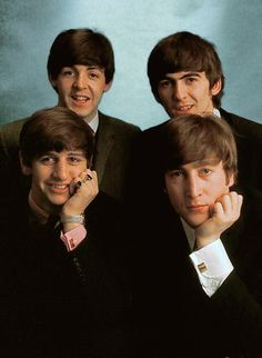 The Beatles: Ringo Starr, Paul McCartney, George Harrison and John Lennon