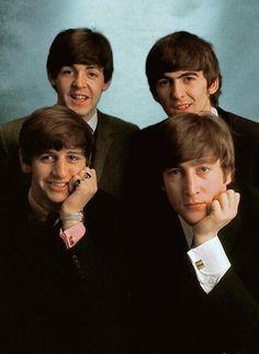 The Beatles: Ringo Starr, Paul McCartney, George Harrison and John Lennon