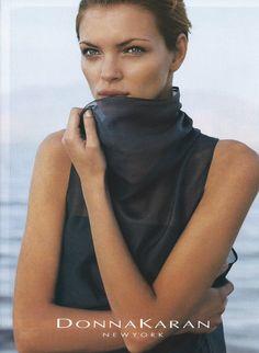 Donna Karan Autunno / Wint 1999 - Esther Canadas da Peter Lindbergh