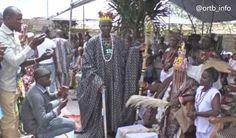 Office de Radiodiffusion et Télévision du Bénin (ORTB) - Le nouveau roi de Savè intronisé