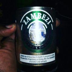 Zambezi Lager from Zimbabwe.