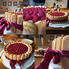 Food Fantasy, Raspberry Cake, Beautiful Cakes, No Bake Cake, Waffles, Food And Drink, Cooking Recipes, Cheesecake, Breakfast