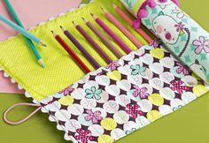 Sew It Yourself: Roll-Up Pencil Case