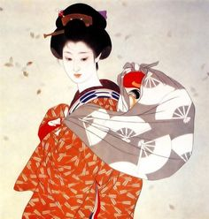 Shimura Tatsumi 志村立美 (1907-1980)  Miyako-odori - 1960s