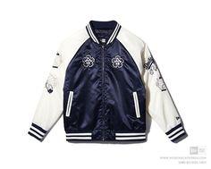 [Limited Edition] New Era Korea AP Hybrid Ink SKJ 63 LA Dodgers Jacket Navy…