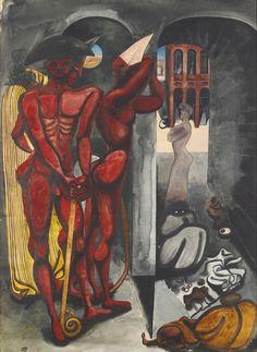 The Torturers, c.1935 by Edward Burra (British 1905-1976)