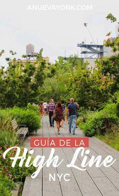 Guía de la High Line de #NuevaYork. Recorre el parque elevado y descubre sus secretos.