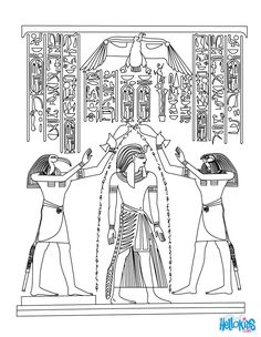 dover coloringart egyptian