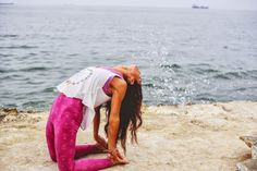 Yoga-me #ustrasana #sea #portugal #crush photography