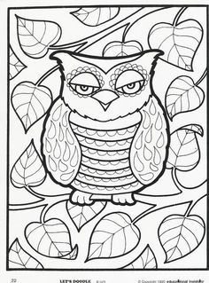 Doodle Coloring Color Sheets 130 Pinterest O The Worlds Catalog Of Ideas