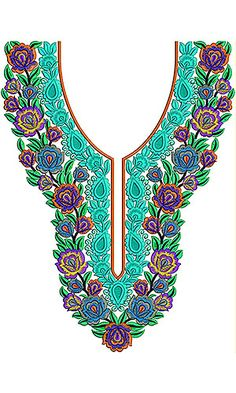 Arabian Fashion Trendy Embroidery Designs