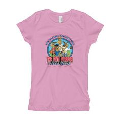 The Five Burros of New York©-Girl's T-Shirt