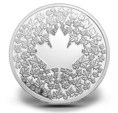 Fine Silver Coin – Maple Leaf Impression – Mintage: Canadian Coins, Canadian History, Mint Coins, Silver Coins, Canadian Identity, Gold Money, Silver Bullion, Commemorative Coins, Rare Coins