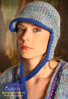 Montana Hat in Adriafil Felis and Globe Uni - Downloadable PDF. Discover more patterns by Adriafil at LoveKnitting. We stock patterns, yarn, needles and books from all of your favourite brands.