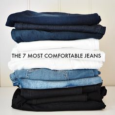 The 7 most comfortable jeans that fit like a boss