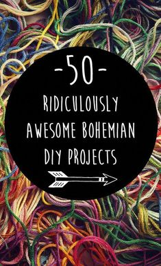 50 Ridiculously Awesome Bohemian DIY Projects {Boho hippie home decor, bath & be. - 50 Ridiculously Awesome Bohemian DIY Projects {Boho hippie home decor, bath & beauty, jewelry, clot - decor diy hippies Boho Hippie, Bohemian Style Home, Hippie Man, Hippie Home Decor, Modern Bohemian, Bohemian Gypsy, Bohemian Homes, Hippie House, Hippie Fashion