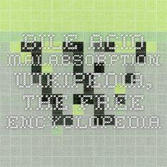 Bile acid malabsorption - Wikipedia, the free encyclopedia