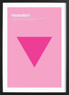 Hedonism by Genís Carreras as Poster in Wooden Frame Frame, Poster, Racing, Picture Frame, Frames, Billboard