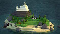 Farewell Island on Behance