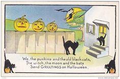 HALLOWEEN : Jack O'Lanterns & Black Cats , 00-10s - Delcampe.com