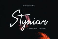 The Styniar is a simple handwritten script. It has an elegant look and can be used to make your designs. Handwritten Fonts, All Fonts, Premium Fonts, Letterhead, Cricut Design, Your Design, Script, Photoshop, Creative