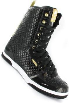 Osiris Uptown Ltd Girls Boot Black/Gold/Quilted - Snowboard Boots Stiefel Skateboard Schuhe - http://on-line-kaufen.de/osiris/osiris-uptown-ltd-girls-boot-black-gold-quilted