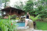Nikki - Relaxing By The Hot Springs (from post: Arenal Hotel Recommendation: An Authentic, Rustic Hideaway In La Fortuna / Arenal)