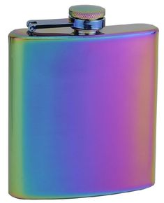 Promising Review: 'I purchased this flask for myself because I love rainbow titanium, but it was so pretty that I purchased a few as gifts! I was concerned that the color might be painted on or something, but it's not! I absolutely love this pretty little flask. The only way I'd like it better is if it was a little heavier, but for the price I am absolutely not complaining.' --Julie A. GooliaGet it from Amazon for $12.95.
