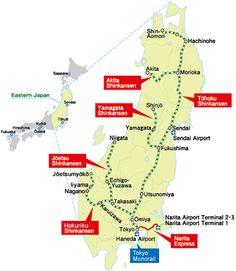 JR East Rail Pass to Nagano and Narita Express train from the airport