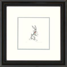 Bugs Bunny The Secret C Framed Etching LE 500 Small Paper Signed NEW In-Stock @ niftywarehouse.com #NiftyWarehouse #Disney #DisneyMovies #Animated #Film #DisneyFilms #DisneyCartoons #Kids #Cartoons