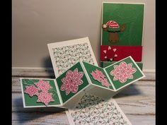 Stampin' Up! Herfst-Winter Catalogus 2016 Sneak Peek #2 Cookie Cutter Christmas (Pop-Up Fold Card) - YouTube