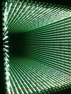 Ivan Navarro installation.
