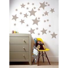 Sticker mural étoiles Patternology : Mamas and Papas - Stickers mixte - Berceau Magique
