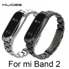 Metal Strap For Xiaomi Mi Band 2 Screwless Stainless Steel Bracelet For MiBand 2 Wristbands Replace Accessories For Mi Band 2 Price: USD Watch Photo, Buy Metal, Wearable Device, Stainless Steel Material, Cool Things To Buy, Stuff To Buy, Stainless Steel Bracelet, Bracelets, Band
