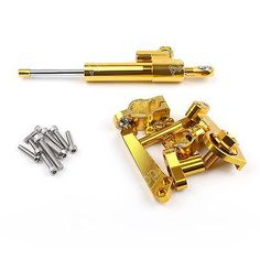 Motor Steering Damper Stabilizer For Yamaha YZF-R3 2015 YZF-R25 2014-15 Gold B1
