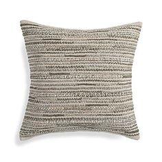 """Isaac Neutral 20"""" Pillow"""