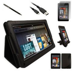 Take 40% Off an All Inclusive Accessory Pack for Your Kindle Fire
