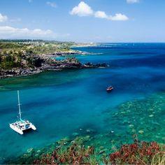 Honolua Bay Maui....where dreams are made. Like this post if you wish you were here! #TropicalParadise #Beautiful