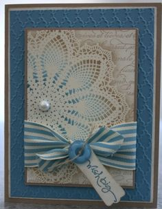hello doily stamp set...could also use medallion stamp set. :)