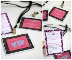 VIP Rock Star Party by www.crazyforcrust.com | Invites, decorations, food, and more ideas for your budding rock star!